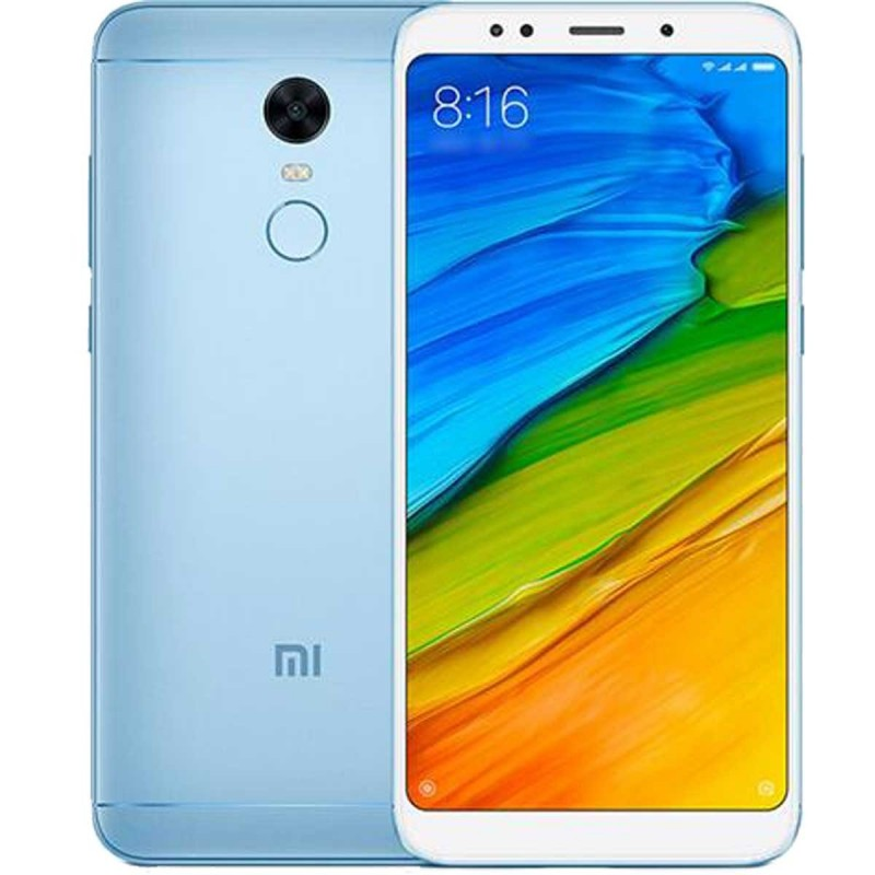 Xiaomi Redmi 5 Plus 4G 32GB Dual-SIM light blue EU Xiaomi Redmi 5 Plus 4G 32GB Dual-SIM light blue EU su www.GlobalWorkMobile...