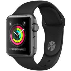 Acc. Bracelet Apple Watch Series 3 8GB space gray 38mm black sport band Acc. Bracelet Apple Watch Series 3 8GB space gray 38m...