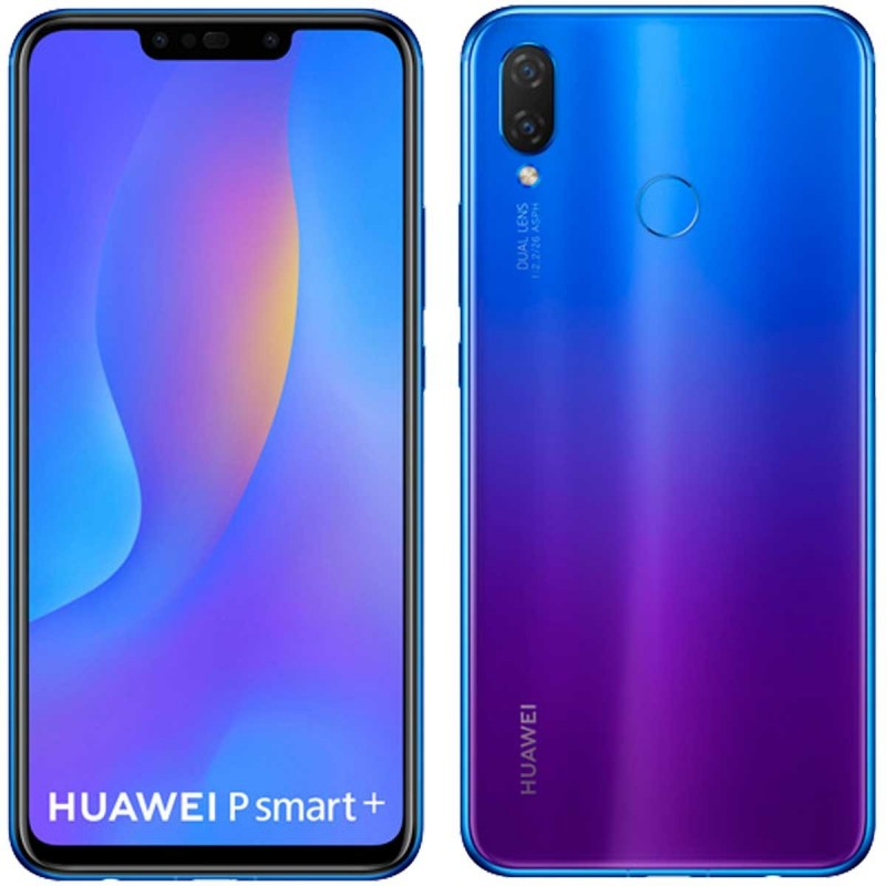 Huawei P smart plus 4G 64GB 4GB RAM Dual-SIM purple EU Huawei P smart plus 4G 64GB 4GB RAM Dual-SIM purple EU su www.GlobalWo...