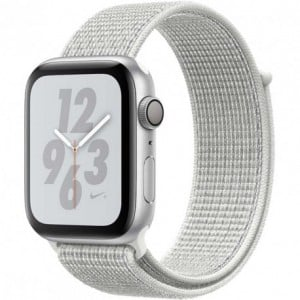 Acc. Bracelet Apple Watch Series 4 16GB silver 44mm Alu white Nike sport loop Acc. Bracelet Apple Watch Series 4 16GB silver ...